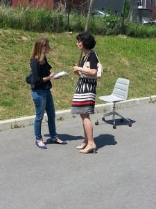 """Manuela Furtado, Présidente de Vivre Sa Vie interviewée par """"Le Parisien"""""""